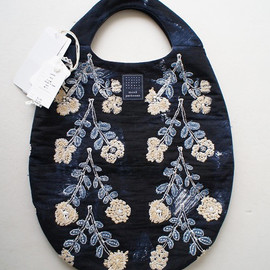 mina perhonen - twins egg bag navy