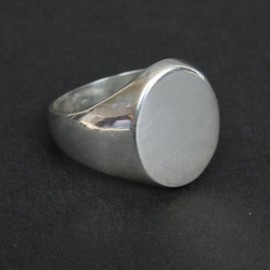 Tiffany & Co. - Oval Signet Ring