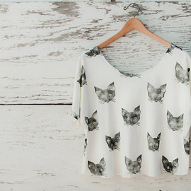 leahgoren - Kitty Cat Tee