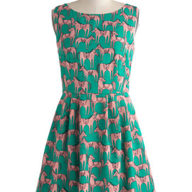 Modcloth - Horse of a Different Color Dress