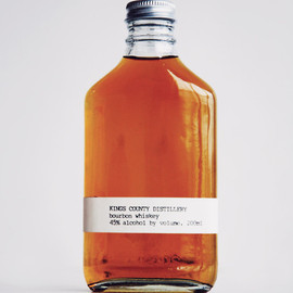 Kings County Distillery - bourbon whiskey bottle
