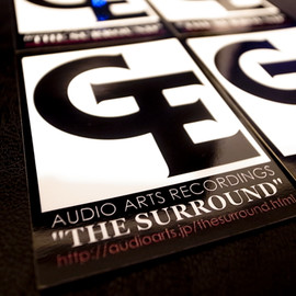 GOODENOUGH X AUDIO ARTS RECORDINGS - GE ロゴ ステッカー