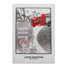 "STUSSY - Lance Mountain ""Never Glow Up Book"""
