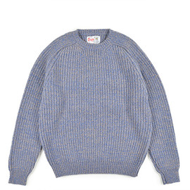Corgi - Chunky Pull Over-Lapis×Musroom