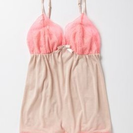 Anthropologie - Neon Lace Set