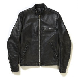 VANSON - Zip Up Leather Blouson
