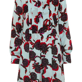 See by Chloé - Printed georgette shirt dress