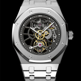 Audemars Piguet - 40th Anniversary Royal Oak Openworked Extra-Thin Tourbillon