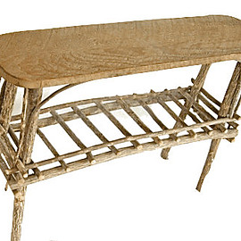 CafeSocietyStore - Charming Willow Twig Side Table