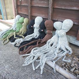 octopus_mountain - Knited Octopus