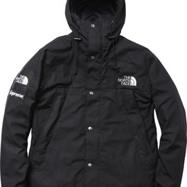 Supreme × The North Face - Waxed Cotton Mountain Jacket