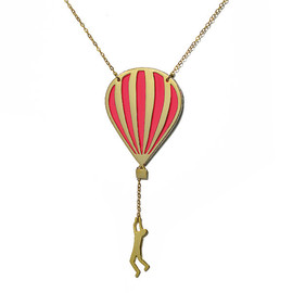 Virginie Millefiori - Hot air balloon long necklace