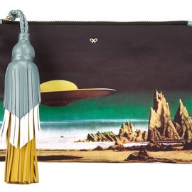 ANYA HINDMARCH - SS2014 Courtney Star Cruiser clutch