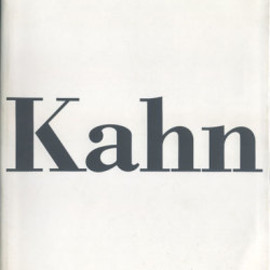 Louis I.Kahn - In the Realm of Architecture