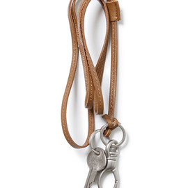 nonnative - DWELLER KEY HOLDER - COW LEATHER