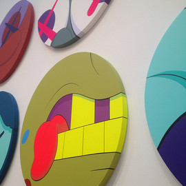 Kaws - Solo Show at the atlanta High Museum (April 2012-