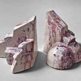Jackson Pollock - Ceramic bookends by Jackson Pollock from 1929