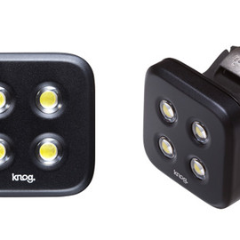 KNOG - Blinder Lights STANDARD   BLACK FRONT