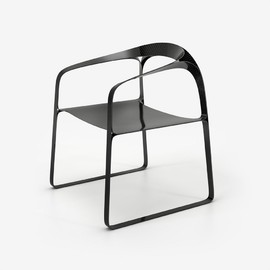 Timothy Schreiber - Carbon Fiber Ploop chair
