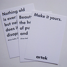 artek - artek Quote Card