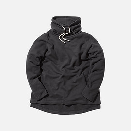 Kith Classics - Kennedy Stack Neck Pullover - Black