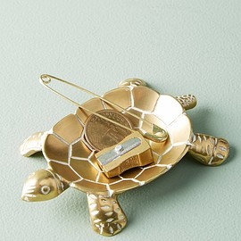 Anthropologie - brass-turtle-trinket-dish