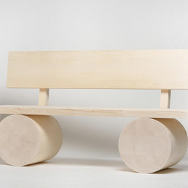 Thomas Schnur - Holzbank wood bench