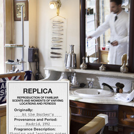 Maison Martin Margiela - Maison Martin Margiela 'Replica' perfume collection 'At the Barber's'