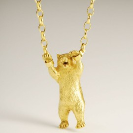 Momocreatura - Handcuffed Bear Necklace