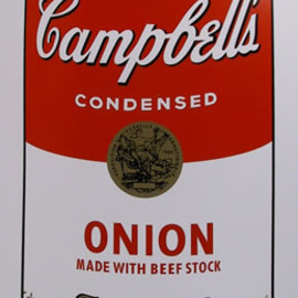 Andy Warhol - Title: Campbell Soup Can: Onion