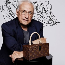 "LOUIS VUITTON, Frank Gehry - ""Celebrating Monogram Collection"" Twisted Box by Frank Gehry"