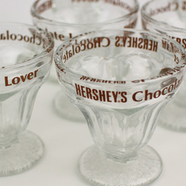 ハーシーズ - Hershey's Chocolate Ice Cream Sundae/Milkshake Glasses