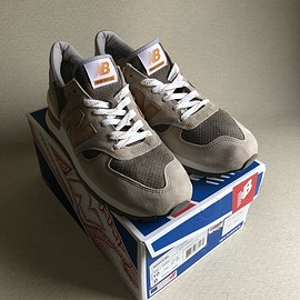 New Balance - J.CREW別注『M990CBL』