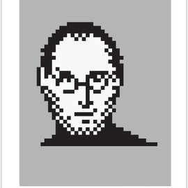 Susan Kare - STEVE JOBS, 2011  ON GRAY