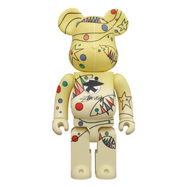 MEDICOM TOY - WORLD WIDE TOUR BE@RBRICK 400% STUSSY