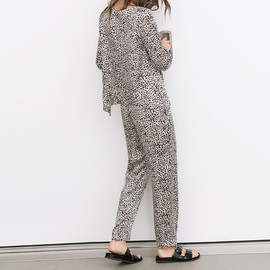 ZARA - Printed top and trousers