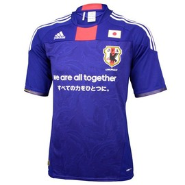 adidas - サッカー日本代表復興支援レプリカジャージー 「we are all together」