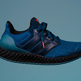 adidas, Packer Shoes, adidas Consortium - Ultra 4D - Blue/Black/Teal/Crimson Red