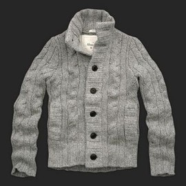 Abercrombie & Fitch - Cashmere Knitting Knitt Cardigan