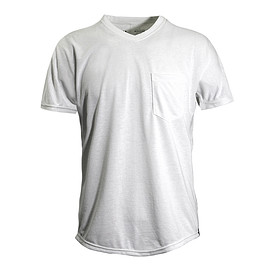 WORKROWN UNIFORM, ACTIVE LIFE UNIFORM - BORN FREE TEE WHITE POKET