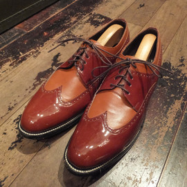vintage, STACY ADAMS - VINTAGE【STACY ADAMS】SHOES コンビシューズ(OR)
