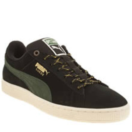 ... Puma - Suede Classic Winterized - Black Green ... 4fbd06489
