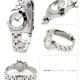 MARC BY MARC JACOBS - NEW BLADE SMALL SILVER