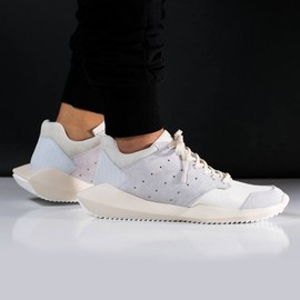 adidas - Adidas x Rick Owens 'Tech Runner' In Core White/Bone