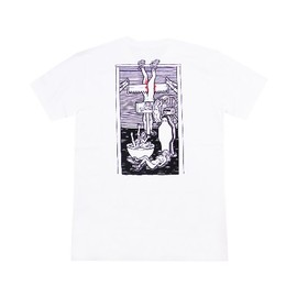 POLAR - ROLLER DERBY TEE (White)