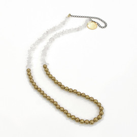 COSMIC WONDER Light Source - Sunprinting:BLASS BEADED NECKLACE