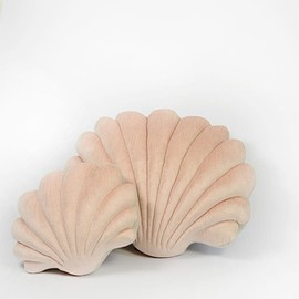 tamar mogendorff - tamar mogendorffShell Pillow in velvet- Small Pillow – tamar mogendorff