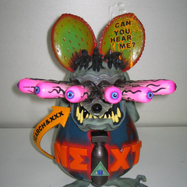 """Rat Fink Life Size Statue figure Sideshow Ed """"Big Daddy"""" Roth"""