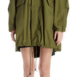 sacai - Oversized Hooded Anorak