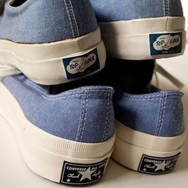 top sider & all star - chambray shoe